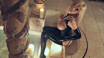 Blonde solo, Latex bdsm, Solo huge tits, Huge tits solo