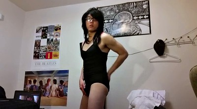 Crossdresser, Asian gay, Crossdressing