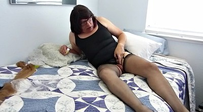 Nylon, Sissy, Mad, Gay cock, Bobbi