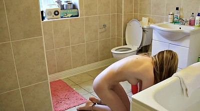 Nude, Young solo, Nude girls, Cleaning