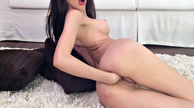 Skinny anal, Hand in hand, Anal gaping, Thin, Fit girl
