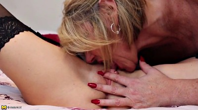 Mature lesbian, Old and young lesbian, Mature and young lesbians