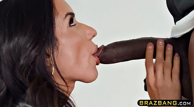 Office sex, Power, Big tits latina