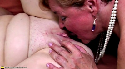 Lesbian group, Old and young lesbian, Mature and young lesbians