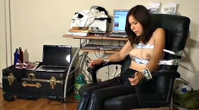 Leggings, Latex bondage