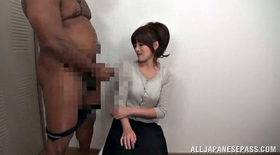 Asian interracial, Asian big dick, Huge tits handjob, Asian huge