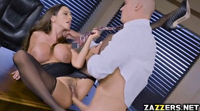 Ripping, Boss, Feet stockings, Feet licking, Bang
