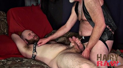 Leather, Ginger, Redhead mature, Chubby mature, Moaning, Raw