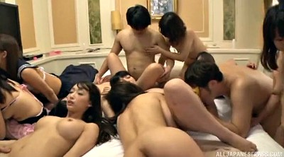 Group sex, Japanese orgy