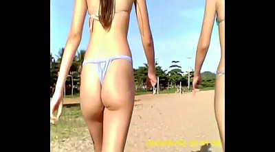 Skinny, Young girls, Ups, Teen bikini, On the beach, Bikini teen