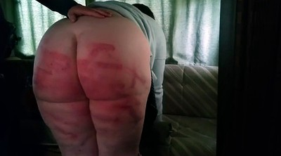 Painful, Pain, Bbw spanking