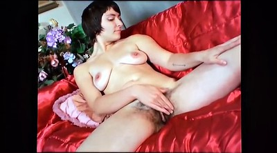 Leg, Saggy, Hairy masturbation, Hairy solo, Leg solo, Big saggy tits