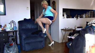 Heels, Gay pantyhose, Pantyhose gay