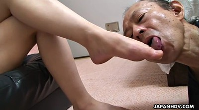 Japanese femdom, Femdom, Old man, Japanese foot, Japanese granny, Japanese old man