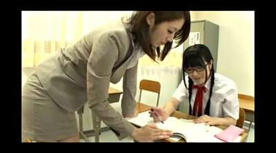 Japanese lesbians, Japanese teacher, Japanese student, Japanese glass, Glasses, Glass