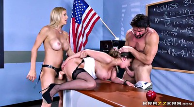 Threesome, Alexis fawx, Brooklyn chase, Alexis, Tommy