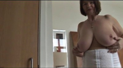 Hairy mature, Huge boobs
