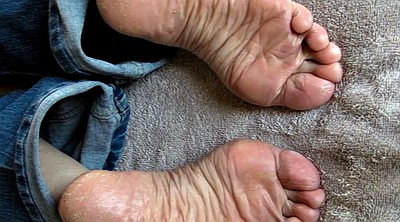 Sperm, Sole, Feet fetish, Dry