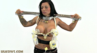 Bound, Device, Huge tits
