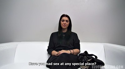Czech casting, Big butt creampie