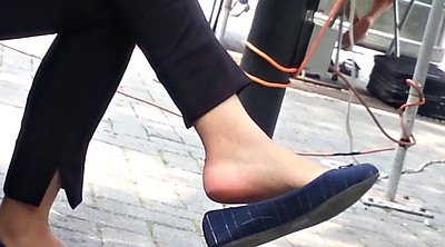 Dangling, Candid, Flat, Compilation feet