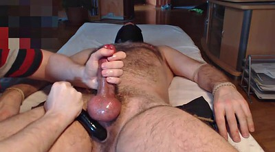 French hairy, Cock milking