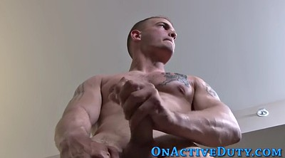 Soldier, Muscle solo, Straight gay
