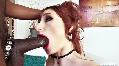 Interracial deepthroat