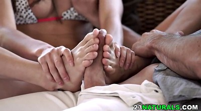 Queen, Ivy, Foot cumshot, Fetishism