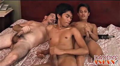 Tickling, Tickle, Twink, Asian daddies, Asian daddy, Asian bondage