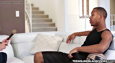 Interview, Teen bbc, Interracial teen