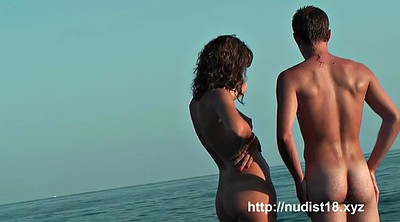 Beach, Nudist beach, Nudists