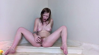 Hairy pussy, Pale