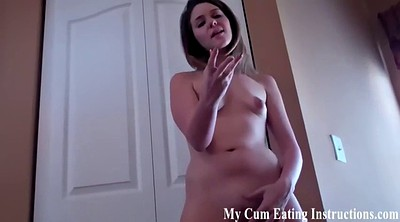 Femdom cumshot, Caught masturbation, Caught masturbating