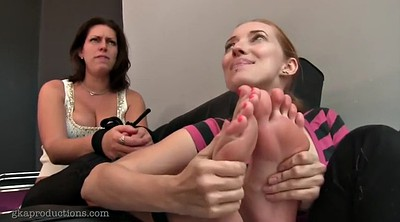 Foot worship, Bound, Feet worship