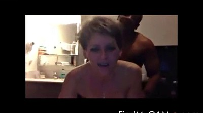 Blonde, Short, Webcam mature, Moaning, Mature webcam, Short hair mature