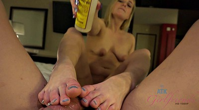 Foot job, Riding, Feet job