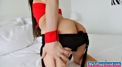 Ladyboy, Shemale solo, Asian masturbation