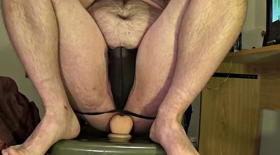 Dildo riding, Hard dick