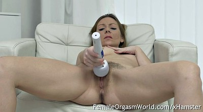 Orgasm, Mature orgasm, Hairy mature masturbation