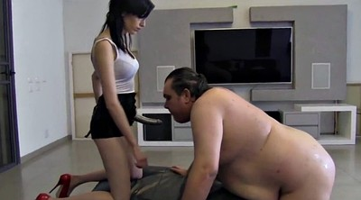 Fat guy, Fat, Mistress, Mistress strapon, Guy