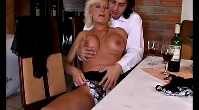 Mature anal, First anal, German mom, Mom horny, Horny mom, German mature anal