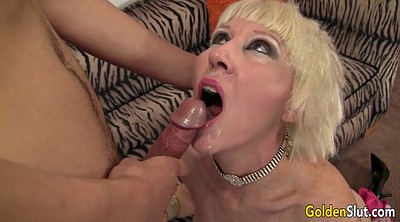 Young, Young boy, Old woman, Mature boy, Mature old, Granny blowjob
