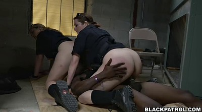 Interracial threesome, Inspection, Chubby interracial