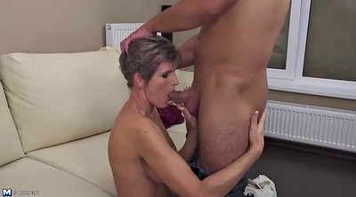 Mother, Young boy, Mature milf boy