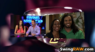 Swinger party, Sex group, Wild sex, Interracial swingers