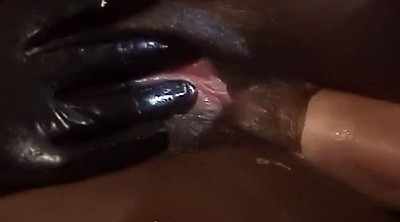 Leather, Girl anal