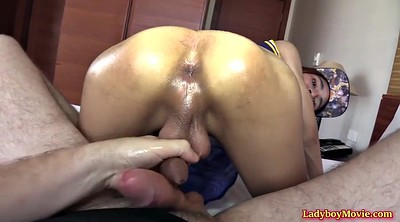 Ladyboy, Kitty, Ladyboy anal, Bareback, Asian kitty