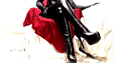 Latex, Boots, Latex bdsm, Gloss