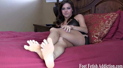 Feet, Long toes, Foot pov, Sexy lingerie
